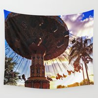 carnival Wall Tapestries featuring Carnival by T.Rust