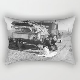 Tracy, California 1937 Rectangular Pillow