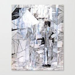 Distant Folding Canvas Print