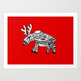 You're wearing a sweater! Art Print
