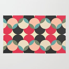 Circles forms engineering Rug