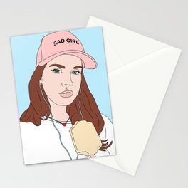 Soft Ice Cream Stationery Cards