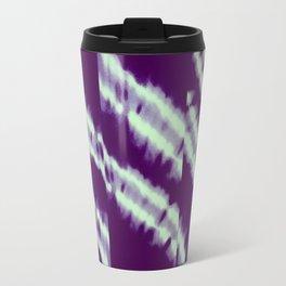 purple tie dye Travel Mug