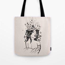 Queen of Spores Tote Bag