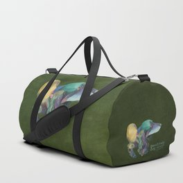 Longhaired Dachshund Duffle Bag