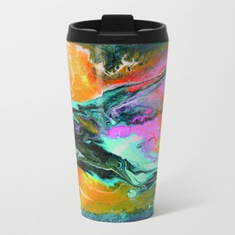 Abstract ORANGE Travel Mug