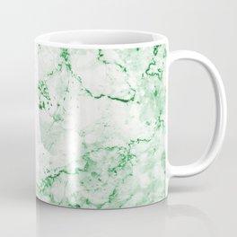 Vintage Green Marble Coffee Mug
