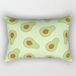 Mexican Avocado Rectangular Pillow