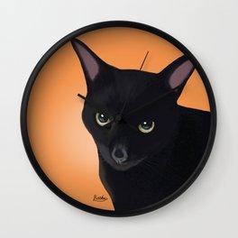 My lovely cat Wall Clock