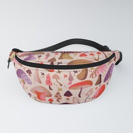 Mushroom Collection – Pink Fanny Pack