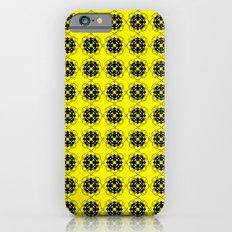 Yellow Custom Pattern Slim Case iPhone 6s