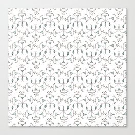 Flowers Pattern I Canvas Print