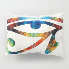 Eye of Horus - Art By Sharon Cummings Pillow Sham