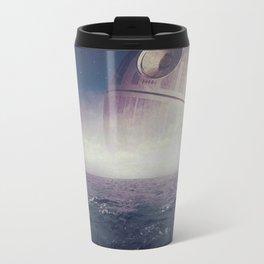Death Star Over The Sea Travel Mug