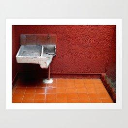 Chilango Sink Art Print