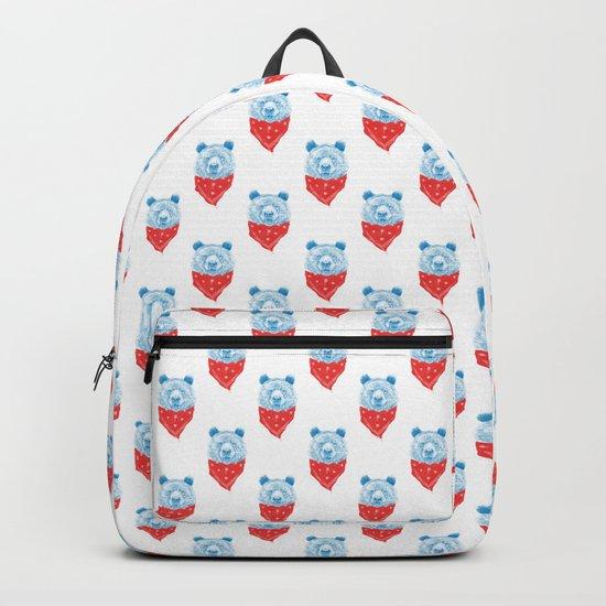 Wild bear (color version) Backpack