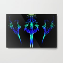 Smoke Art 117 Metal Print