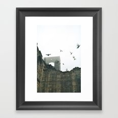 Gone with the wind... Framed Art Print