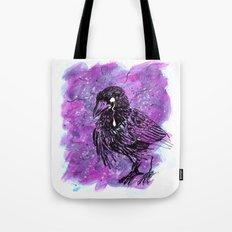 Crying Crow Tote Bag