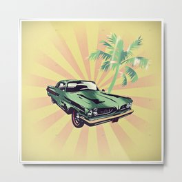 Summer Moves On Metal Print