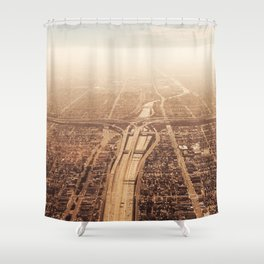 The Highway Shower Curtain