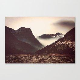 Montana Mountain Pass Canvas Print