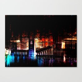 Stuttgart main station I Canvas Print