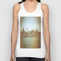 san francisco Tank Tops featuring San Francisco by Christine Workman