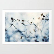 Winter Breaks 4 Art Print