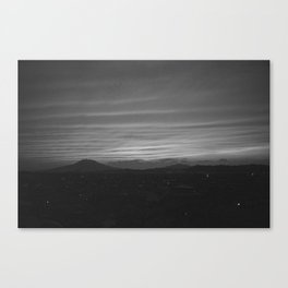 Evening / Fukuoka, Japan Canvas Print