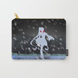 The White: Weiss Schnee Carry-All Pouch