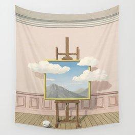 Rene Magritte La Vengeance  Wall Tapestry