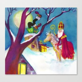 Sinterklaas Canvas Print
