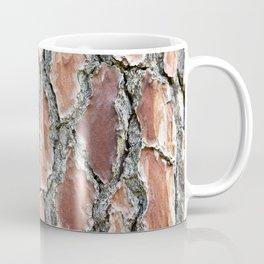 Background brown tree bark Coffee Mug