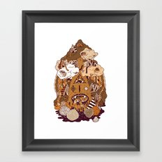 Of the forest Framed Art Print