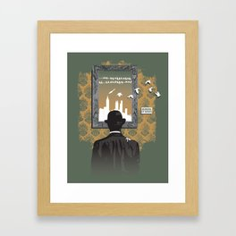 Picture Show Framed Art Print