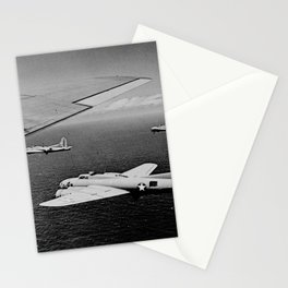 B-17F Flying Fortress Bombers over the Southwest Pacific Stationery Cards