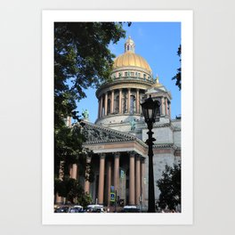 Saint Isaac's Cathedral Art Print