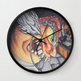 Mad Professor Wall Clock