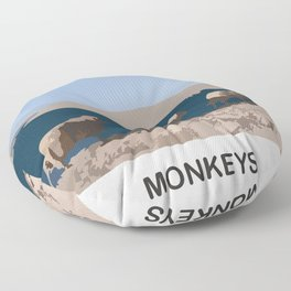 MONKEYS Floor Pillow