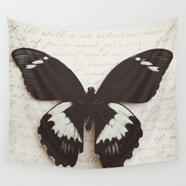 Papilio Aegus Butterfly Wall Tapestry