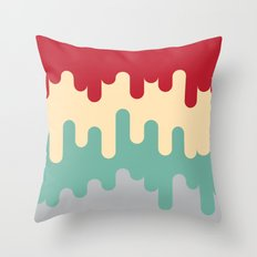 50's Diner Throw Pillow