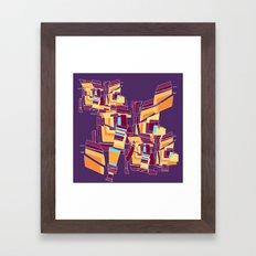 Everyday Mistakes Framed Art Print