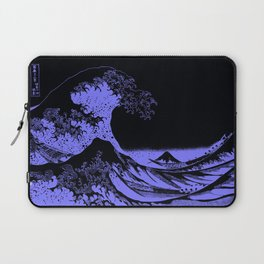 The Great Wave Periwinkle Lavender Laptop Sleeve