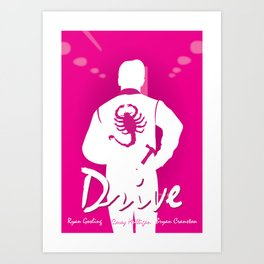Drive - Movie Poster Art Print