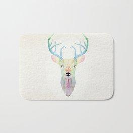 white deer Bath Mat