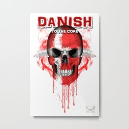 To The Core Collection: Denmark Metal Print