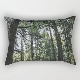 Undergrowth - Olympic National Park Rectangular Pillow