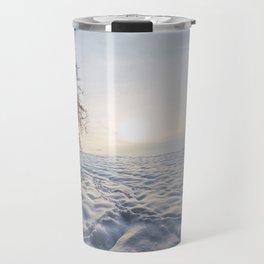 winter meadow Travel Mug