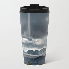 On a hike Travel Mug